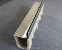 Concrete resin drainage trench,concrete drain channel Trench drain/linear drain/drainage channel with slot type cover