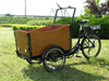 2015 hot sale three wheel danish electric cargo tricycle / trike / bike / bicycle for sale