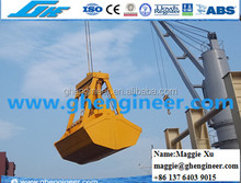25t 6- 12CBM clamshell grab bucket for deck crane with remote control