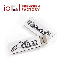 Get Free Samples Usb Disk Recorder Driver Stock Pen Drive Plastic Memory Stick with Logo