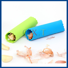 Silicone Garlic Peeler Peeling Press Tube Tool, Garlic Press & Roller