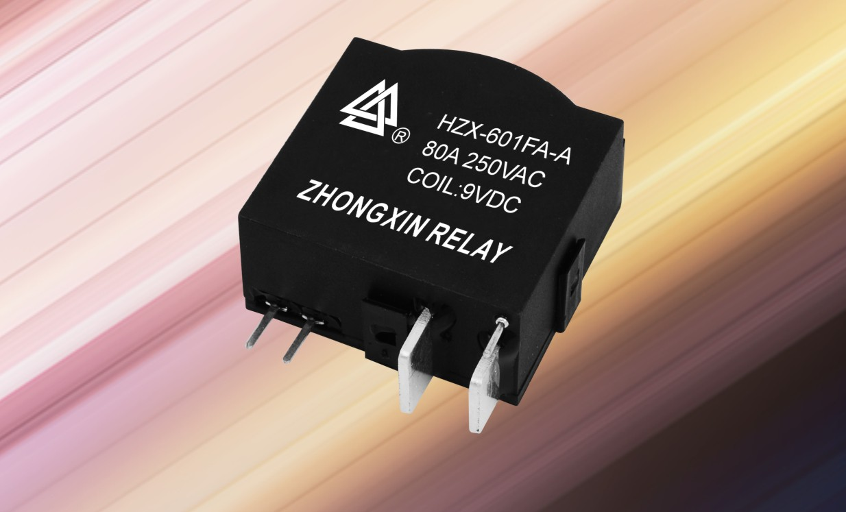 HZX-601FA-A-80A 9v flasher relay