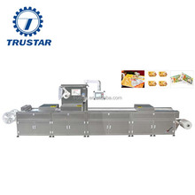 meat thermoforming vacuum packing machine