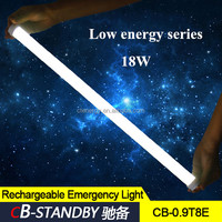 Flame retardant plastic led tube when electricity cut 18W