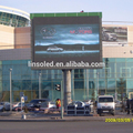 Linso Tech Giant Screen Full Color P10 LED Signboard Video Wall Commercial Advertising