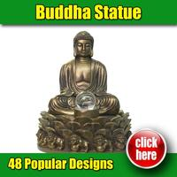 Customize metal miniature buddha statues
