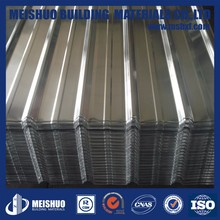 Zinc coated corrugated roof sheet metal sheet price