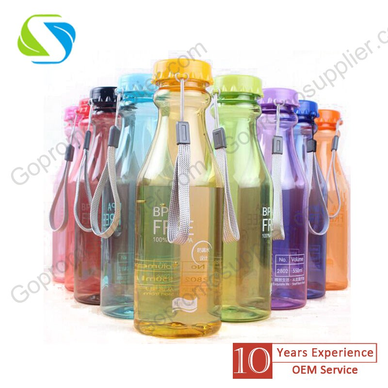 Promotion gift BPA free 800ml plastic sport bottle bottle with custom logo
