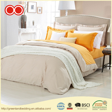 All Seasons Customized Polyester Microfiber Fabric Hotel Refreshing Bed Linen 4PCS Bedding Duvet Cover Set