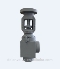 Low Noise 85dBA Forged Stainless T-Type Globe Valve