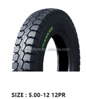 tricycle motorcycle motocross scooter spare parts new tyre factory in china 5.00-12