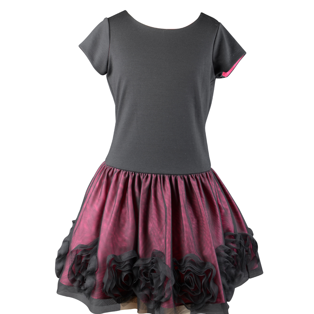 formal fashion design small girls dress