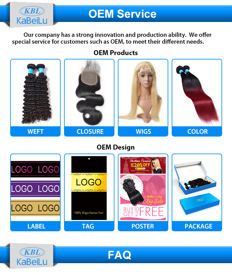 KBL factory discount tangle free deep wave human hair weave new hair styles