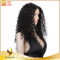 Youtube sex video high quality mink brazilian big curly weave hair make your own lace front wig