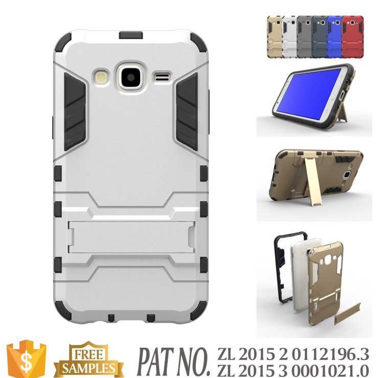 Factory wholesale stylish back cover case j5 mobile phone