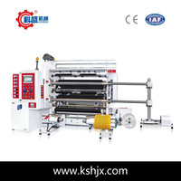 Servo motor food bopp packaging slitting machine