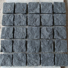 Grey Granite Meshed Natural Stone For Pavement