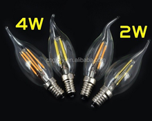 saving energy High lumen 5w led bulb , c37 e14 led candle bulb lighting