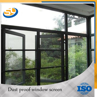 stainless steel window frame woven wire mesh windows wire mesh