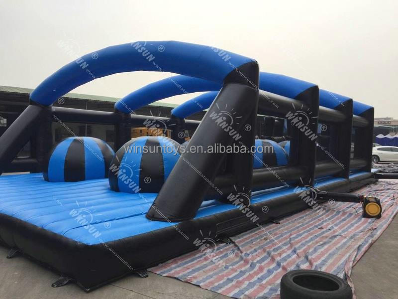 Factory price 5K inflatable obstacle course for sale,Giant 5K obstacle course for kids and adults
