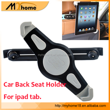 Best Selling 360 Rotate Headrest Mount Car Tablet Holder, Universal Car Back Seat Tablet stand holder For iPad