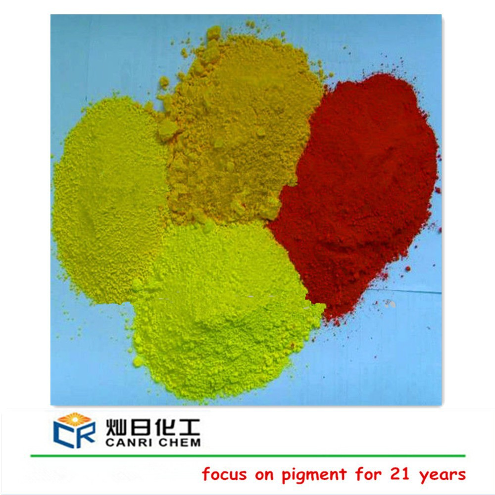 High quality red and yellow paint raw materials iron oxide pigment asphalt price ton