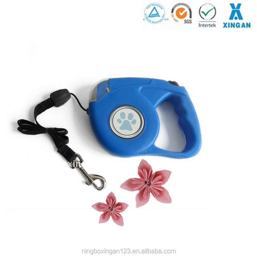 retractable dog lead leash with LED light