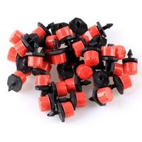 30pcs/lot Adjustable Home Garden Micro Irrigation Drippers Sprinklers Emitter Set