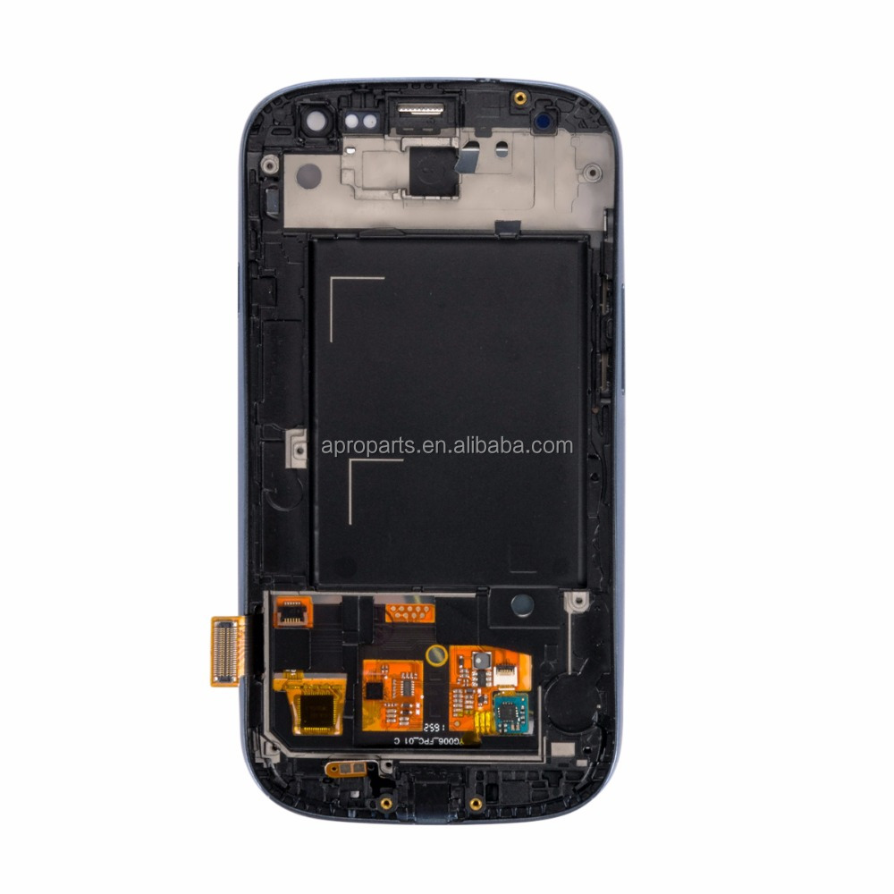 blue white LCD Display Touch Screen For samsung galaxy s3 i9300 display touch screen digitizer LCD Display Glass Panel