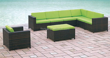 Rattan modern sofa couches living room sofas YPS049