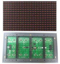 Wholesale Outdoor P10 RED led module 32x16 LED Display dot Matrix module