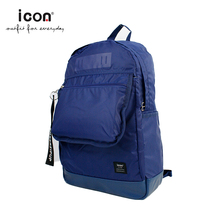 icon eminent brands nylon casual backpack laptop bag
