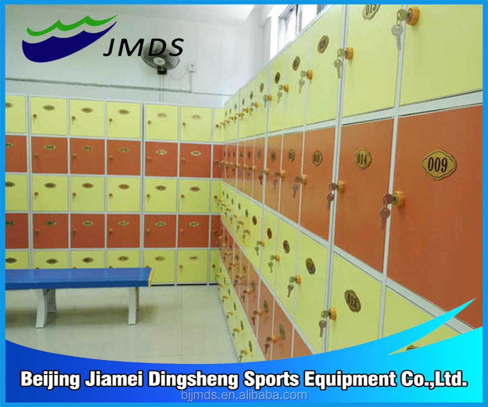 Swimming pool equipment school locker