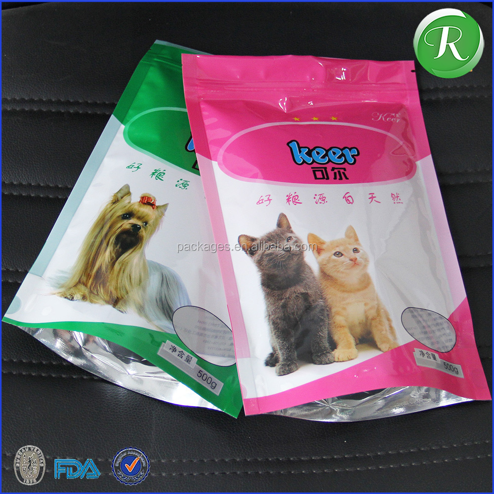 hot sale nylon food packaging bag Plastic stand up pouch Plastic stand up pouch pet food bag