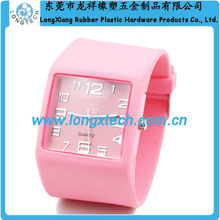expedite silicon custom logo o d m watch