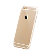 Transparent Crystal Clear TPU Back Cover for iphone 6 case