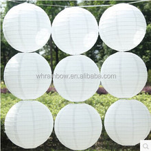 white round paper lanterns for wedding