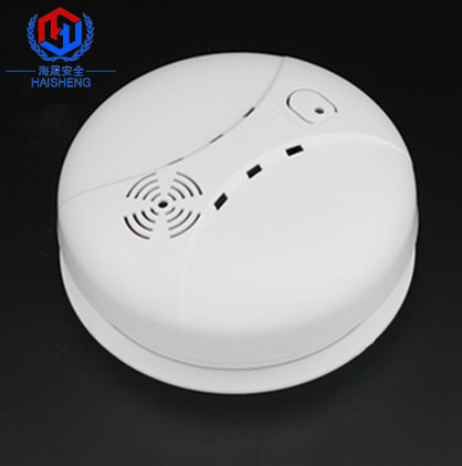 9V battery operated optical portable smoke detector with great prices