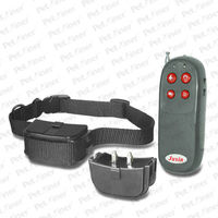 Anti Bark 250M Pet Dog Training Collar Remote Vibra&Shock Electric Control 4 in1