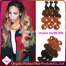 ombre hair three tone hair extension can ship in 24 hours brazilian hair wholesale in brazil