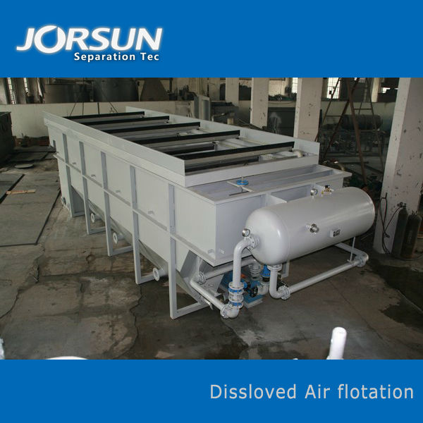 Dissloved Air Flotation-Oil and Fat Refineries Wastewater Treatment Plant