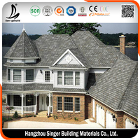 Decorative synthetic roof tiles, light weight spanish tile roof