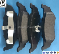 ISO9001 disc brake pad Hot Sale Auto Parts Disc Brake pad D759 compound technology brakepads of CHRYSLER