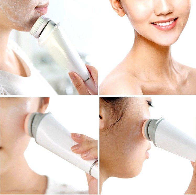 Facial Cleansing Brush Skin Care Massage Deep Cleaning Soft Brush
