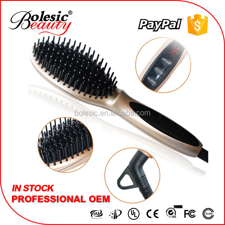 Distributors wanted beauty salon equipment iron hair comb in styler as seen tv