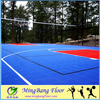 Hot sale15mm thickness PP Outdoor Interlocking Sports floor for badminton
