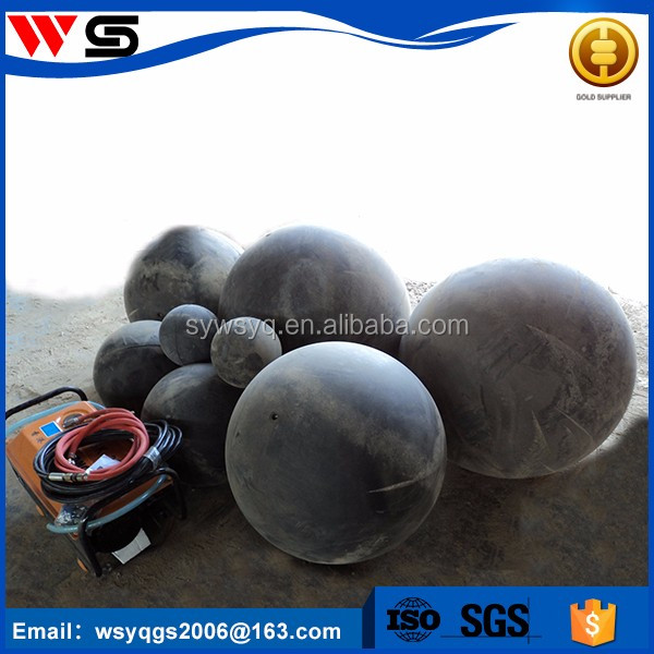 concrete pump pipe pipeline equipment cleaning rubber sponge ball