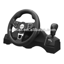 2018 factory 180-degree steering angle all in one racing car game steering wheel