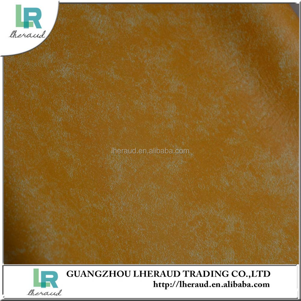 china Textiles embossed PVC rexine leather for sofa and furniture making