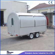JX-FR350 The best selling canopy cart aluminum food truck camper for sale 4 wheel utility trailer
